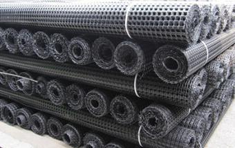 HDPE单向塑料土工格栅
